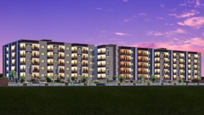 Gallery Cover Image of 1213 Sq.ft 2 BHK Apartment for rent in ASN Elite, Whitefield for 19000