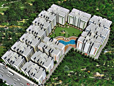 Gallery Cover Image of 1265 Sq.ft 3 BHK Apartment for rent in City, South Dum Dum for 25000