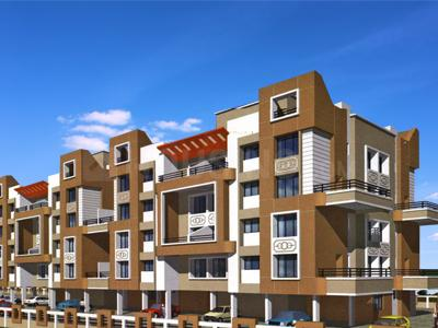 Gallery Cover Image of 1230 Sq.ft 2 BHK Apartment for rent in MP Residency, Hinjewadi for 10000