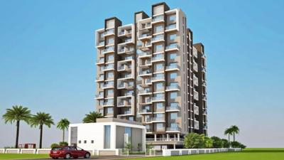 Gallery Cover Image of 550 Sq.ft 1 BHK Apartment for buy in Vardhaman Residency D Wing, Wakad for 3700000