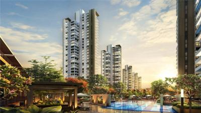 Gallery Cover Image of 1750 Sq.ft 3 BHK Apartment for rent in Puri Emerald Bay, Sector 104 for 30000