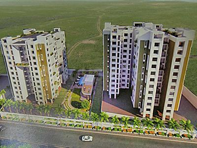 Gallery Cover Image of 1000 Sq.ft 2 BHK Apartment for buy in Kushal Nivriti, Kondhwa for 7000000