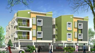 Gallery Cover Image of 900 Sq.ft 1 BHK Apartment for rent in Anirudh Bhartwaj Nagar Mudichur, Mudichur for 6000