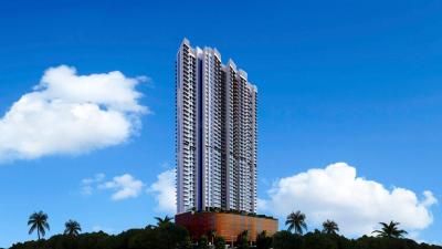 Gallery Cover Image of 850 Sq.ft 3 BHK Apartment for rent in Romell Aether, Goregaon East for 70000
