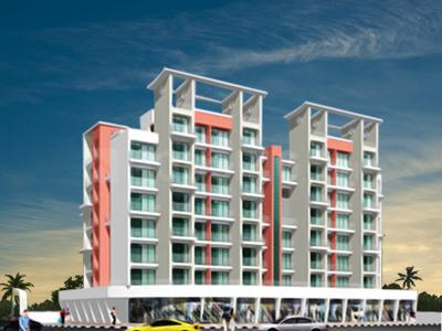 Gallery Cover Image of 1200 Sq.ft 2 BHK Apartment for rent in Platinum Om Sai Shrushti, Ulwe for 12000