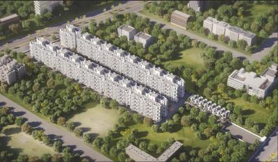 Gallery Cover Image of 985 Sq.ft 2 BHK Apartment for buy in SSD Sai Pearl Phase 2, Pimple Saudagar for 7956565