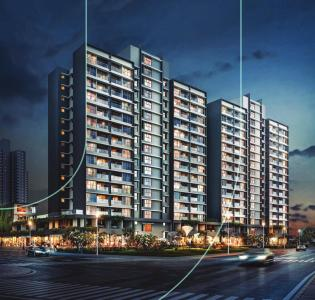 Gallery Cover Image of 600 Sq.ft 1 BHK Apartment for buy in Paranjape Blueridge The Groves, Hinjewadi for 4500000