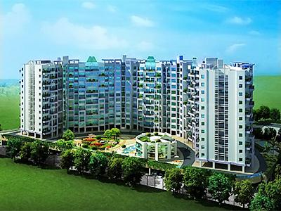 Gallery Cover Image of 1182 Sq.ft 2 BHK Apartment for buy in Kolte Patil Downtown, Kharadi for 9300000