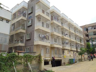 Gallery Cover Image of 1018 Sq.ft 2 BHK Apartment for buy in Aashraya Onyx, Devarachikkana Halli for 5100000