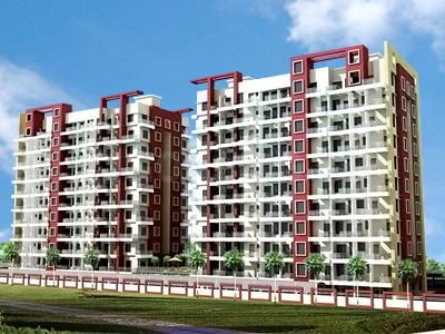 Gallery Cover Image of 980 Sq.ft 2 BHK Apartment for rent in Polite Paradise, Dhanori for 16000