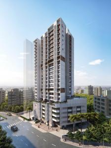 Gallery Cover Image of 500 Sq.ft 1 BHK Apartment for buy in Romell Amore, Andheri West for 11600000
