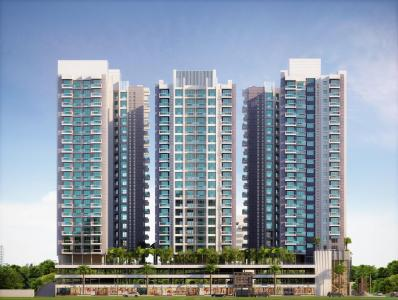 Gallery Cover Image of 1285 Sq.ft 3 BHK Apartment for buy in Darvesh Darvesh Horizon, Mira Road East for 12524000