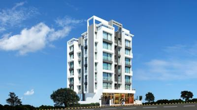 Gallery Cover Image of 650 Sq.ft 1 BHK Apartment for rent in KK Solitaire, Ulwe for 12500