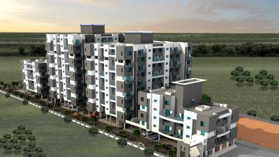 Gallery Cover Image of 572 Sq.ft 1 BHK Apartment for rent in Milestone Sanvi Majesty A D C, Chakan for 5500