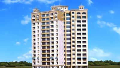 Gallery Cover Image of 620 Sq.ft 1 BHK Apartment for rent in Suncity Pluto, Powai for 25000