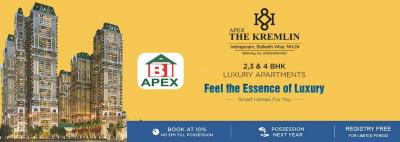 Gallery Cover Image of 1495 Sq.ft 3 BHK Apartment for buy in Apex The Kremlin, Nai Basti Dundahera for 7500000