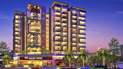 Gallery Cover Image of 998 Sq.ft 2 BHK Apartment for rent in Mahadev Towers, Rambagh Colony for 17375