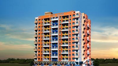 Gallery Cover Image of 675 Sq.ft 1 BHK Apartment for buy in M.S Vrindavan Palms, Kalyan West for 5500000