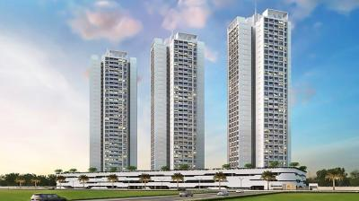 Gallery Cover Image of 1111 Sq.ft 1 RK Apartment for buy in Aurum Q Residences, Ghansoli for 10000000