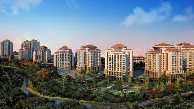Gallery Cover Image of 2100 Sq.ft 3 BHK Apartment for rent in Songbirds, Bhugaon for 25000