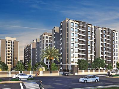 Gallery Cover Image of 1530 Sq.ft 3 BHK Apartment for buy in Navkar Kalasagar Heights, New Ranip for 8000000
