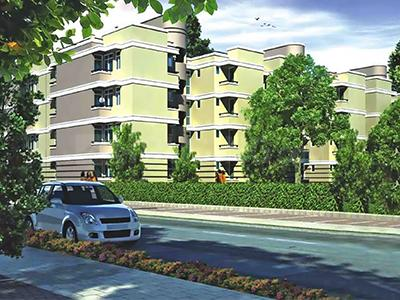 Gallery Cover Image of 1000 Sq.ft 1 BHK Apartment for rent in Unitech Unihomes 1, Sector 16 for 20000