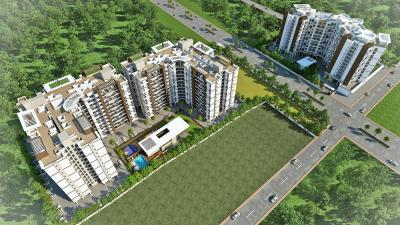 Gallery Cover Image of 950 Sq.ft 2 BHK Apartment for rent in Krishna Aeropolis, Lohegaon for 25000