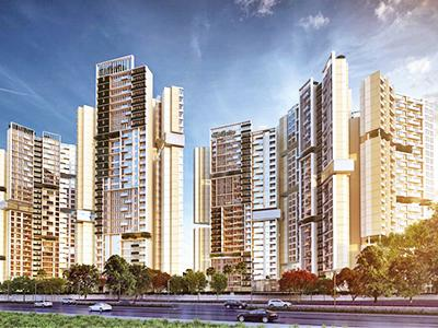 Gallery Cover Image of 1145 Sq.ft 2 BHK Apartment for buy in Amanora Adreno Towers, Hadapsar for 11200000