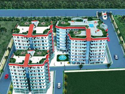 Gallery Cover Image of 1404 Sq.ft 2 BHK Apartment for buy in Markx Whispering Willow, Kishanpur for 7722000
