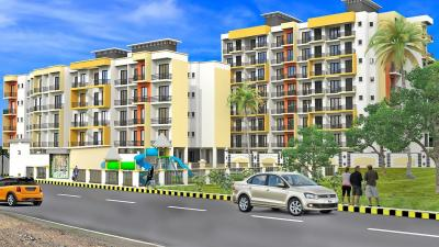 Gallery Cover Image of 810 Sq.ft 2 BHK Apartment for rent in Sagar Platinum Sagar Jewels, Badlapur East for 4500