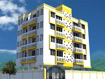 Gallery Cover Image of 500 Sq.ft 2 BHK Apartment for buy in Shree Krishna Lok Mangal by Shri Krishna Developer, Modi Khari for 2100000