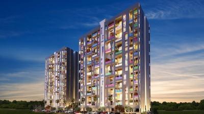 Gallery Cover Image of 1158 Sq.ft 2 BHK Apartment for buy in Oxford Florida Water Color I, Manjari Budruk for 9100000
