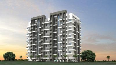 Gallery Cover Image of 700 Sq.ft 1 BHK Apartment for rent in Ceratec City, Yewalewadi for 11000