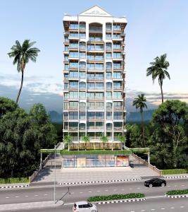 Gallery Cover Image of 690 Sq.ft 1 BHK Apartment for buy in Sarang Pillars Bellview, Ulwe for 5500000