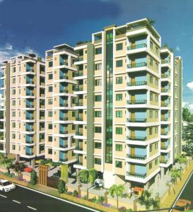Gallery Cover Image of 493 Sq.ft 1 BHK Apartment for buy in Mondal Shree Ganesh Residency, Bidhannagar for 912050