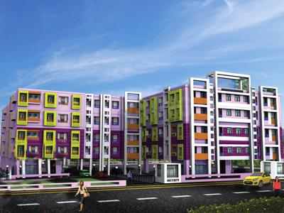 Gallery Cover Image of 930 Sq.ft 2 BHK Apartment for rent in Porospathor Regency, Madhyamgram for 13000