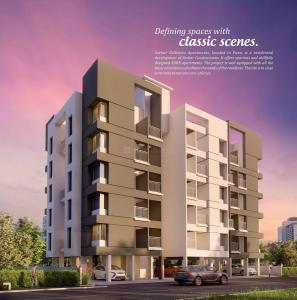 Gallery Cover Image of 650 Sq.ft 1 BHK Apartment for rent in Sarkar Bellisimo Apartments, Yewalewadi for 9500