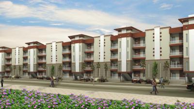 Gallery Cover Image of 770 Sq.ft 1 BHK Apartment for buy in Pushpanjali Gopnanda, Vrindavan for 2300000