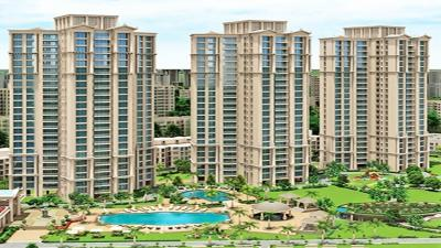 Gallery Cover Image of 2450 Sq.ft 4 BHK Apartment for rent in Hiranandani Estate Rodas Enclave, Thane West for 85000