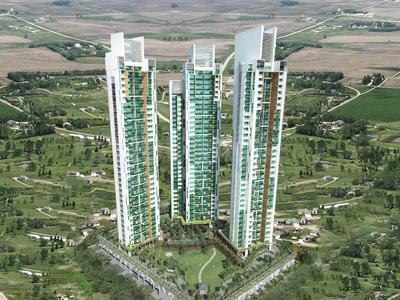 Gallery Cover Image of 1850 Sq.ft 3 BHK Apartment for buy in Gee Cee Cloud 36 Phase I, Ghansoli for 29500000