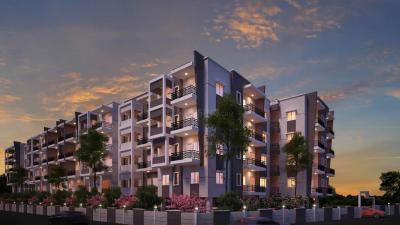 Gallery Cover Image of 1256 Sq.ft 2 BHK Apartment for rent in Desai Orchid, Whitefield for 19000
