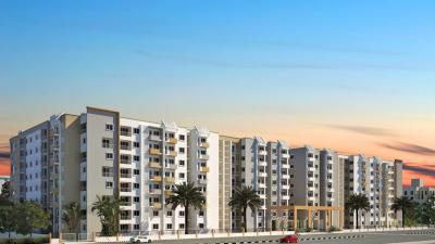 Gallery Cover Image of 1370 Sq.ft 3 BHK Apartment for rent in Platinum Lifestyle, J P Nagar 8th Phase for 25000