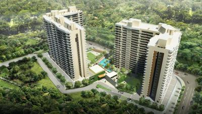 Gallery Cover Image of 1100 Sq.ft 2 BHK Apartment for rent in Kalpataru Hills, Thane West for 29500