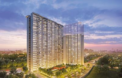 Gallery Cover Image of 1321 Sq.ft 3 BHK Apartment for buy in Kalpataru Magnus, Bandra East for 69000000