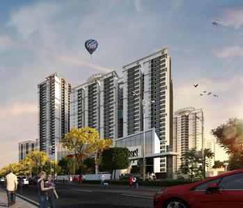 Gallery Cover Image of 1450 Sq.ft 2 BHK Apartment for buy in SMR Vinay Iconia Phase II Block 1A Block 1B, Kondapur for 11000000