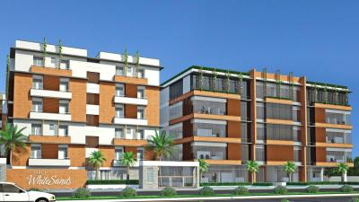 Gallery Cover Image of 1500 Sq.ft 2 BHK Apartment for rent in Saroj White Sands, Bhoganhalli for 21333