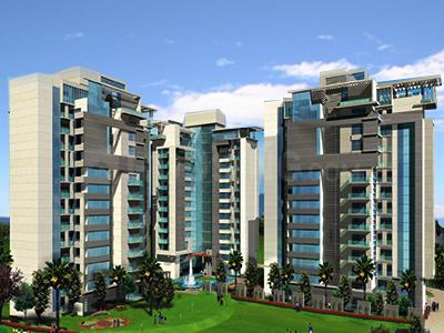 Gallery Cover Image of 1400 Sq.ft 2 BHK Apartment for rent in TDI Ourania, Sector 53 for 65000