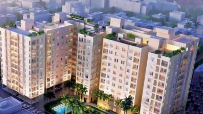 Gallery Cover Image of 1021 Sq.ft 2 BHK Apartment for buy in Ambuja Udvita, Bagmari for 7200000