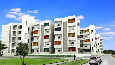 Gallery Cover Image of 910 Sq.ft 2 BHK Apartment for rent in Sri Amethyst, Krishnarajapura for 19000