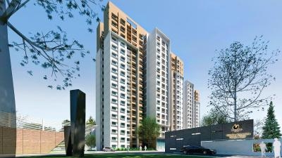 Gallery Cover Image of 1378 Sq.ft 2 BHK Apartment for rent in Prestige Bagamane Temple Bells, RR Nagar for 25000